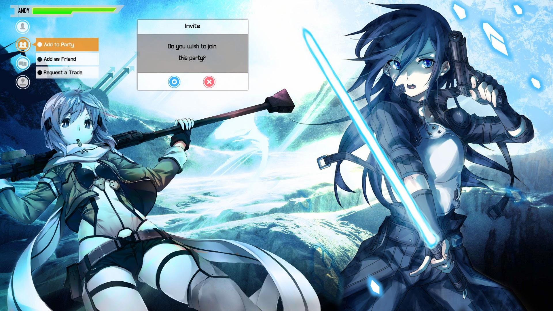 Sword Art Online Wallpaper 1080p Posted By John Walker