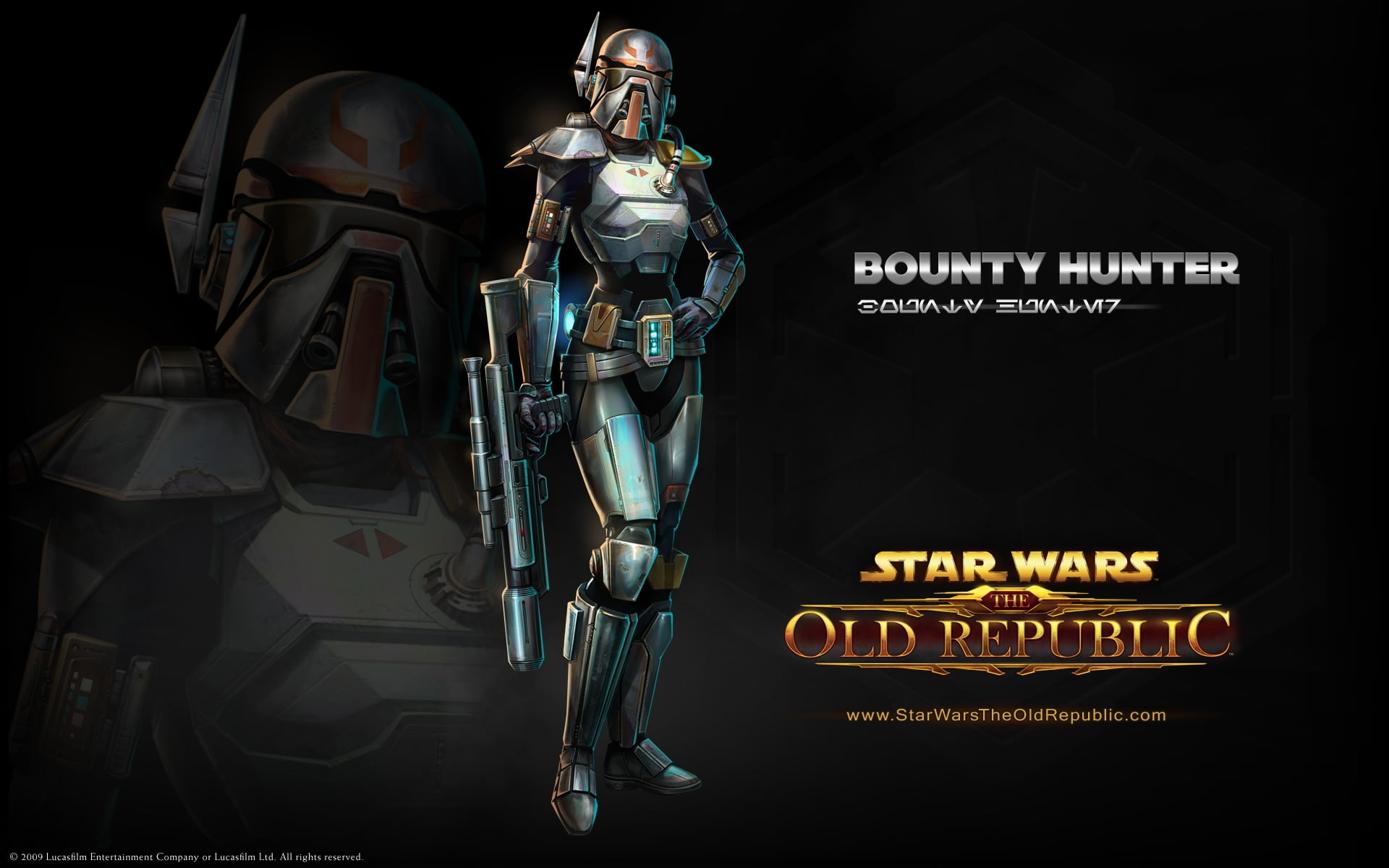 Bounty Hunter Star Wars Old Republic digital wallpaper HD
