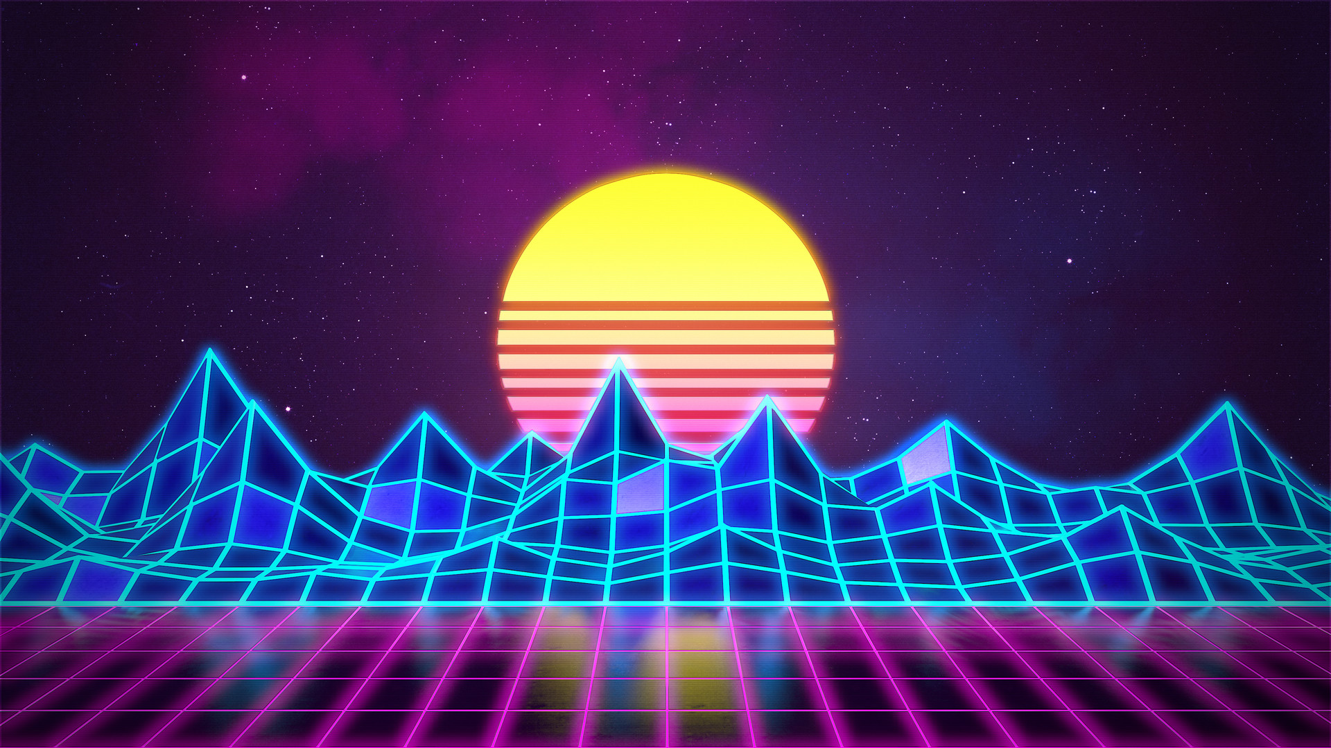 Synthwave And Retrowave Wallpapers Posted By John Thompson