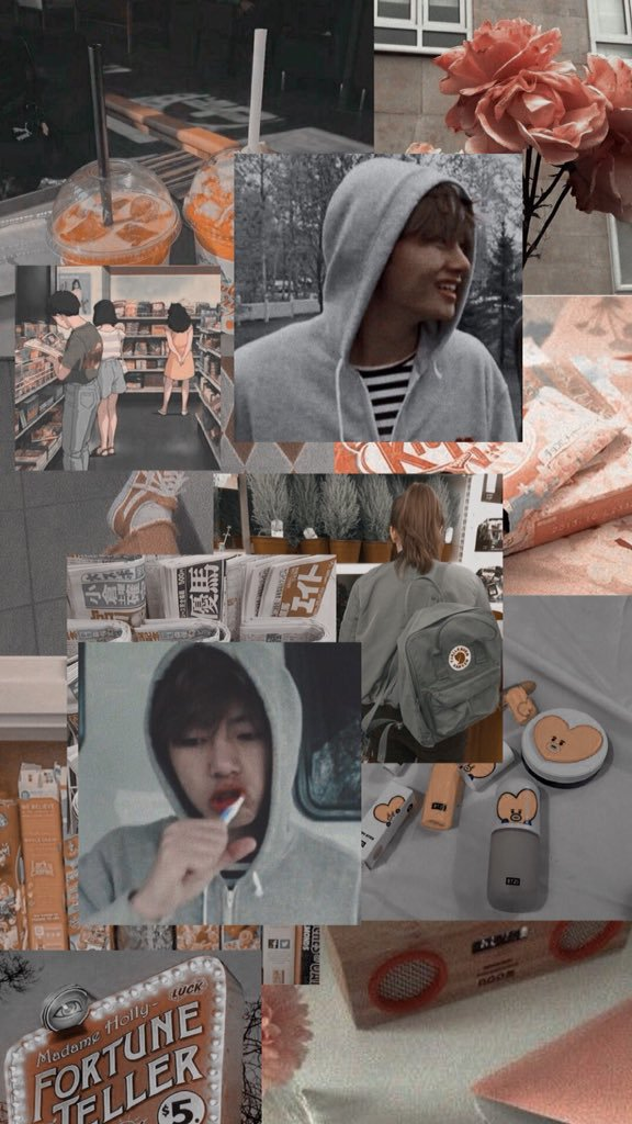 Another aesthetic wallpaper work for taehyuung wallpaper