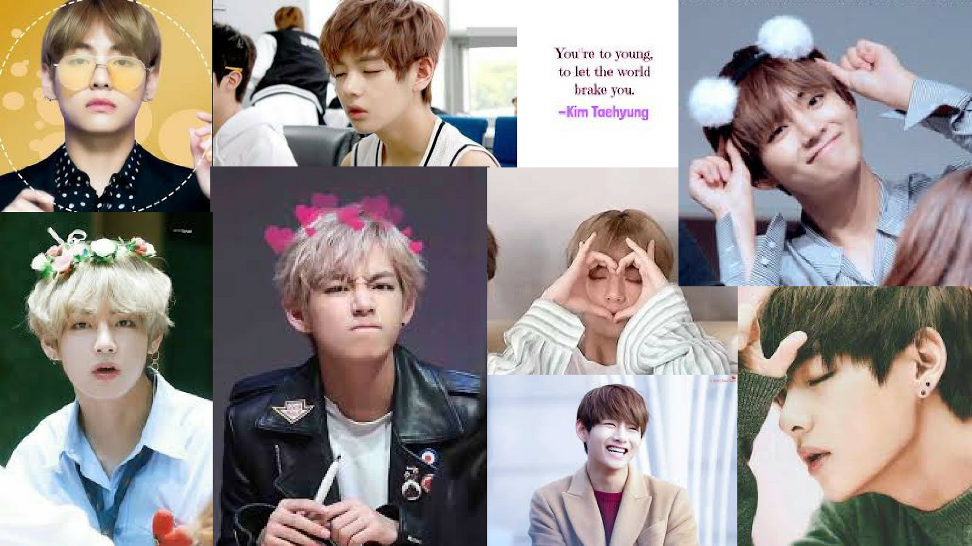Taehyung Computer Wallpaper Posted By John Peltier