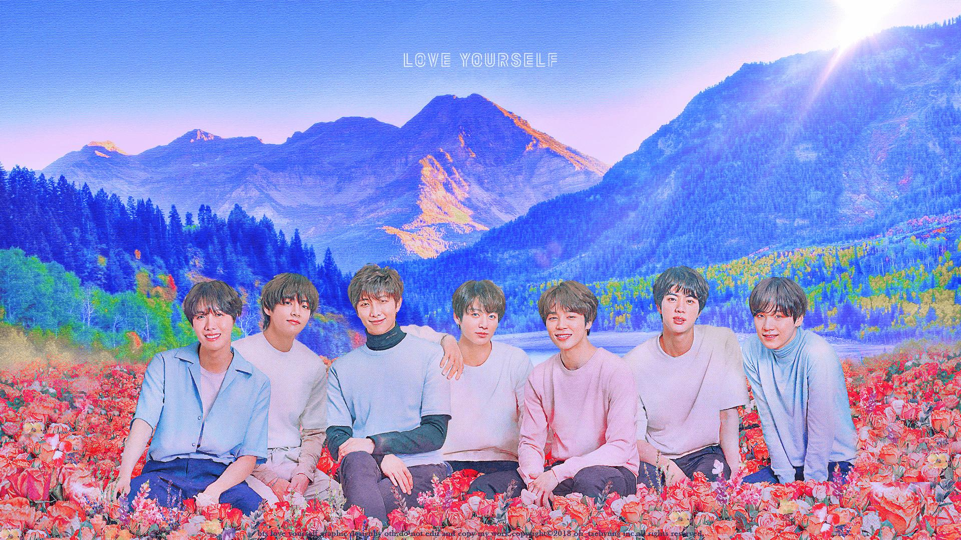 Download Bts Computer Wallpaper , High quality wallpaper for