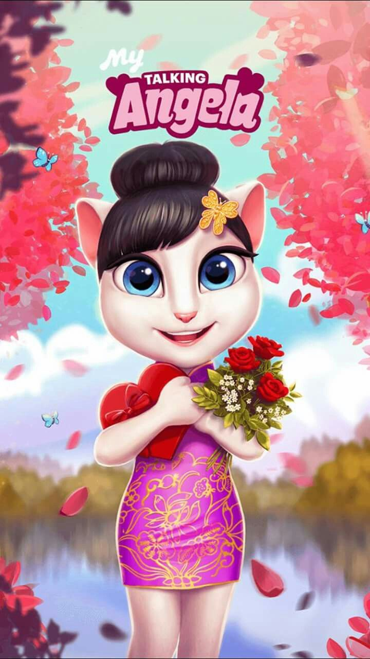 Talking Angela Wallpaper Posted By Sarah Thompson