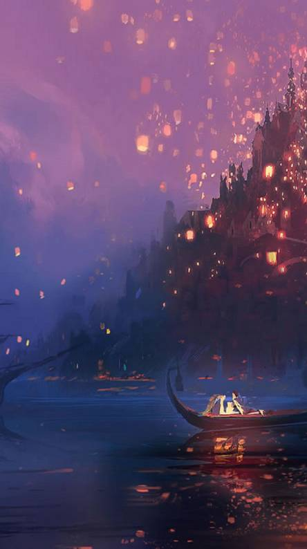 Tangled Lantern Wallpaper Posted By Michelle Mercado