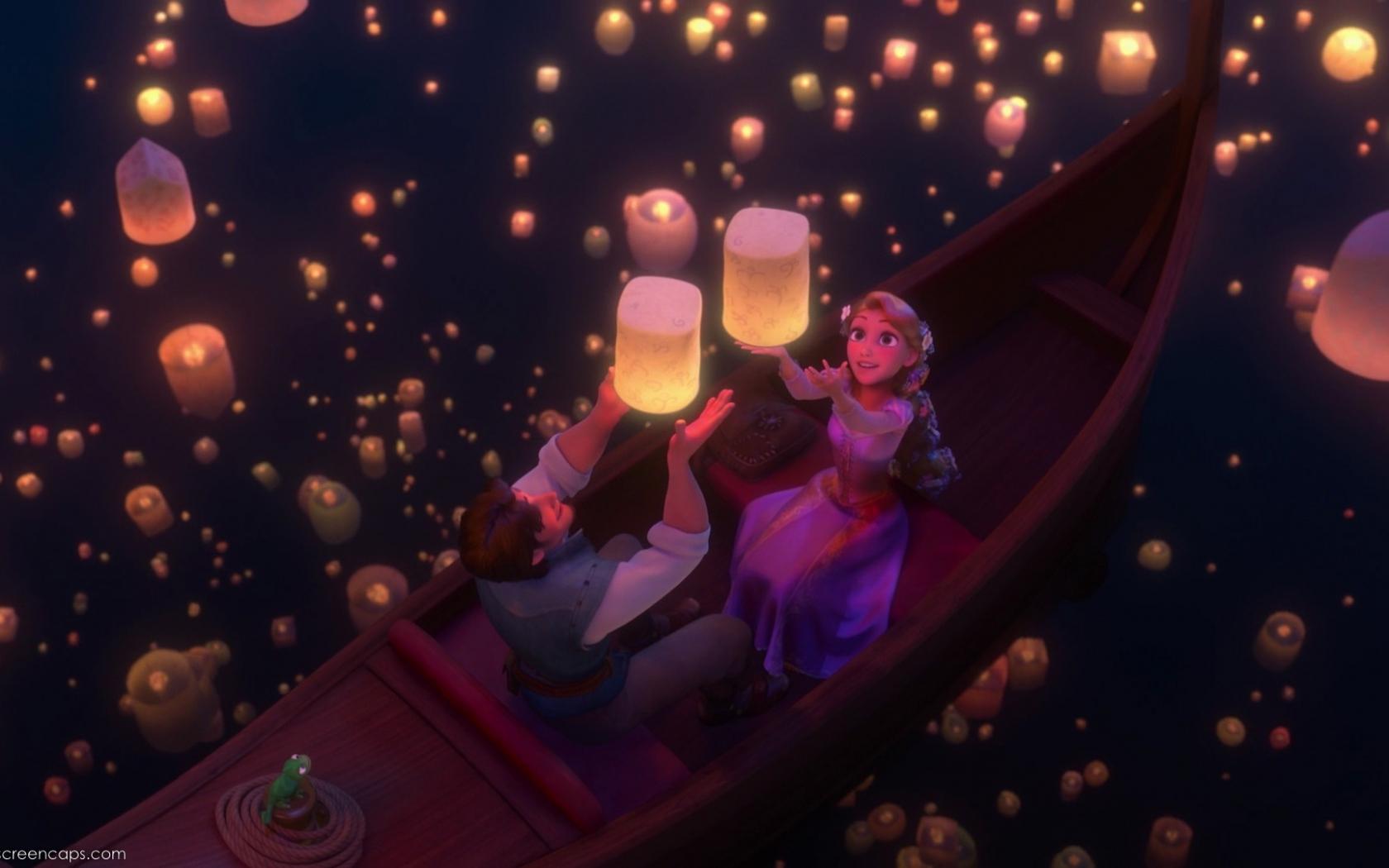 Tangled Lanterns Wallpaper Posted By Samantha Walker