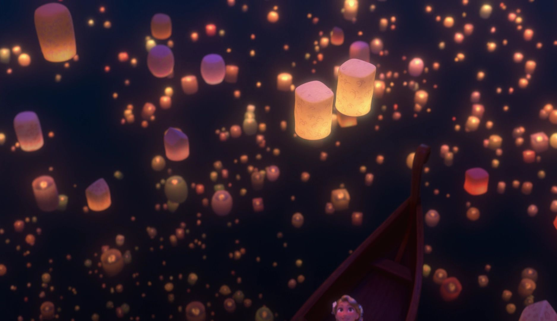 Tangled Lanterns Wallpaper Posted By Samantha Walker