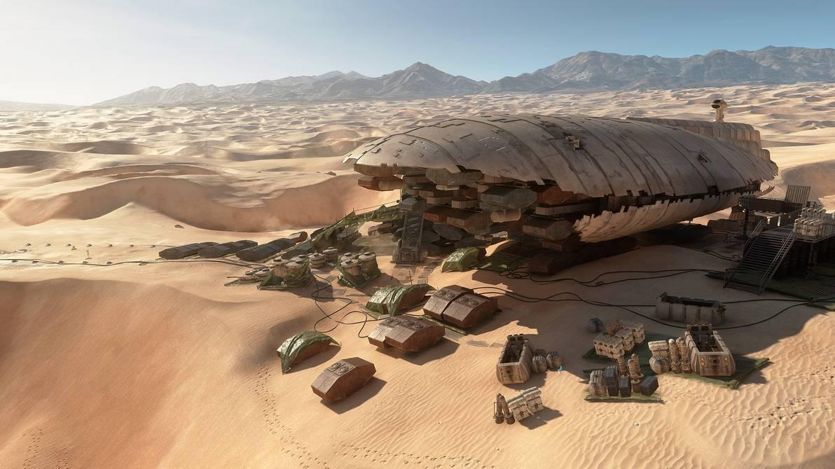 Star Wars Battlefront Tatooine Wallpaper by Faithfullfaun1