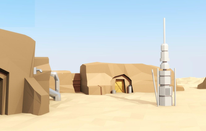 Wallpaper sand, home, star wars, star wars, Tatooine