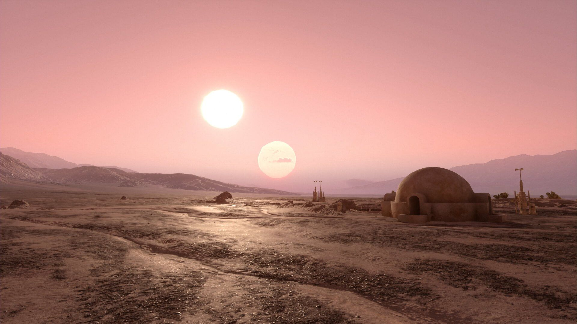 Tatooine Wallpapers Posted By Ethan Simpson