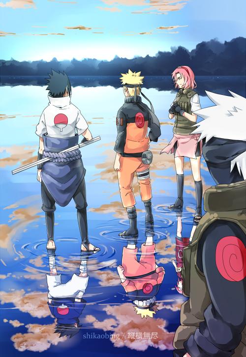 Team 7, Mobile Wallpaper Zerochan Anime Image Board