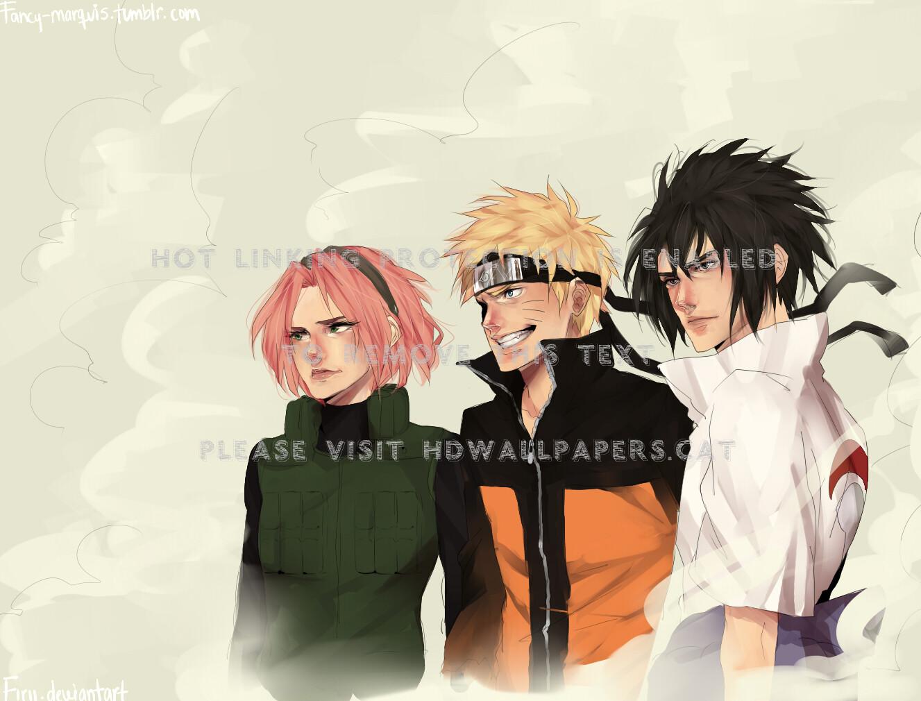 Anime Wallpaper Hd Naruto Team 7 Wallpaper Hd