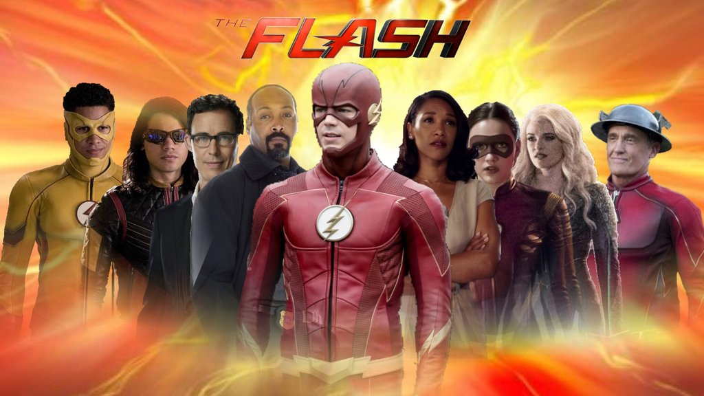Team Flash Wallpaper Posted By Sarah Simpson