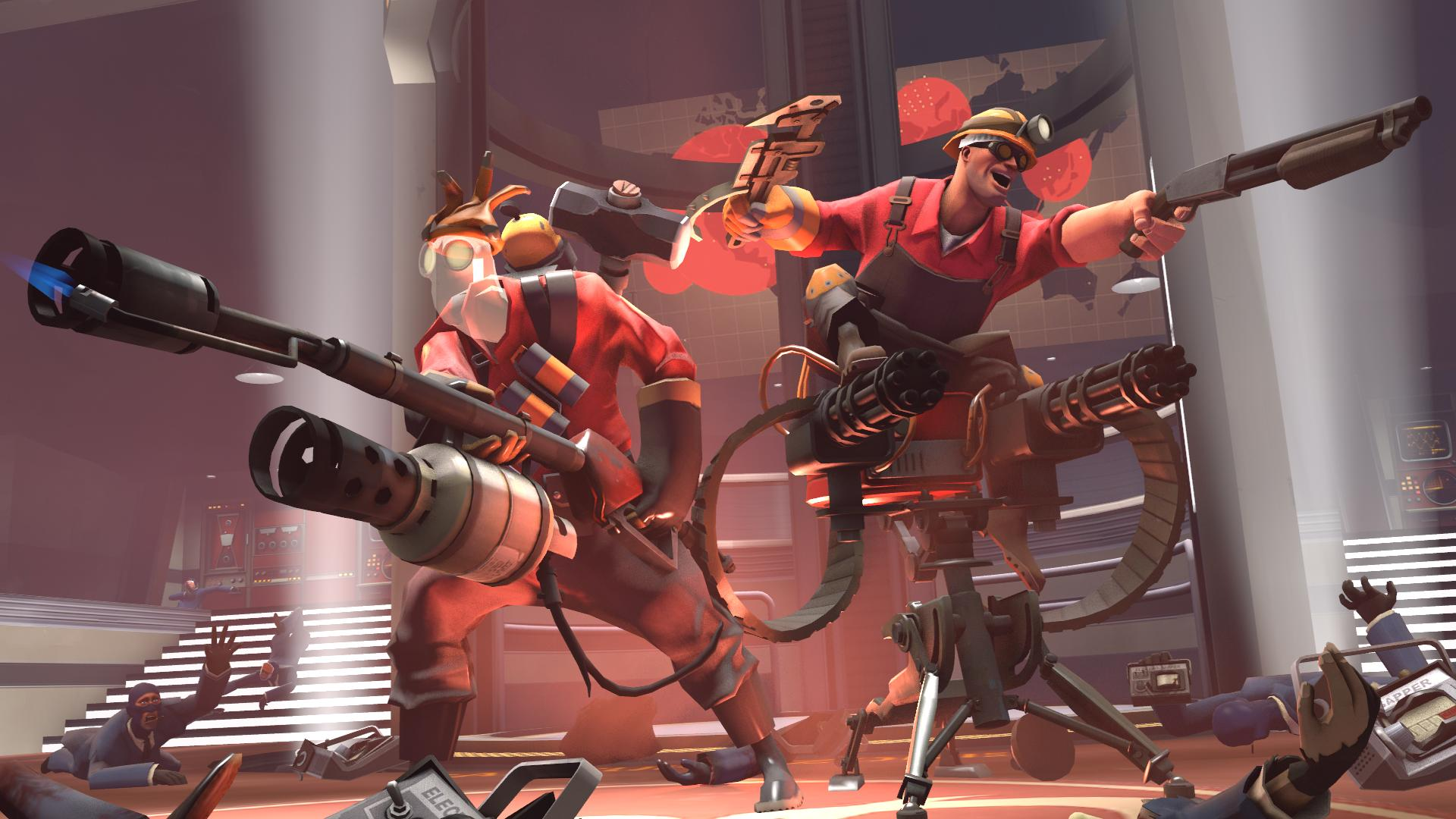 Team Fortress 2 Background Posted By Christopher Mercado
