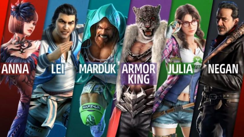 Tekken Characters Pictures Posted By Samantha Simpson
