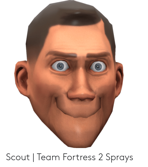 Tf2 Scout Portrait Posted By John Tremblay