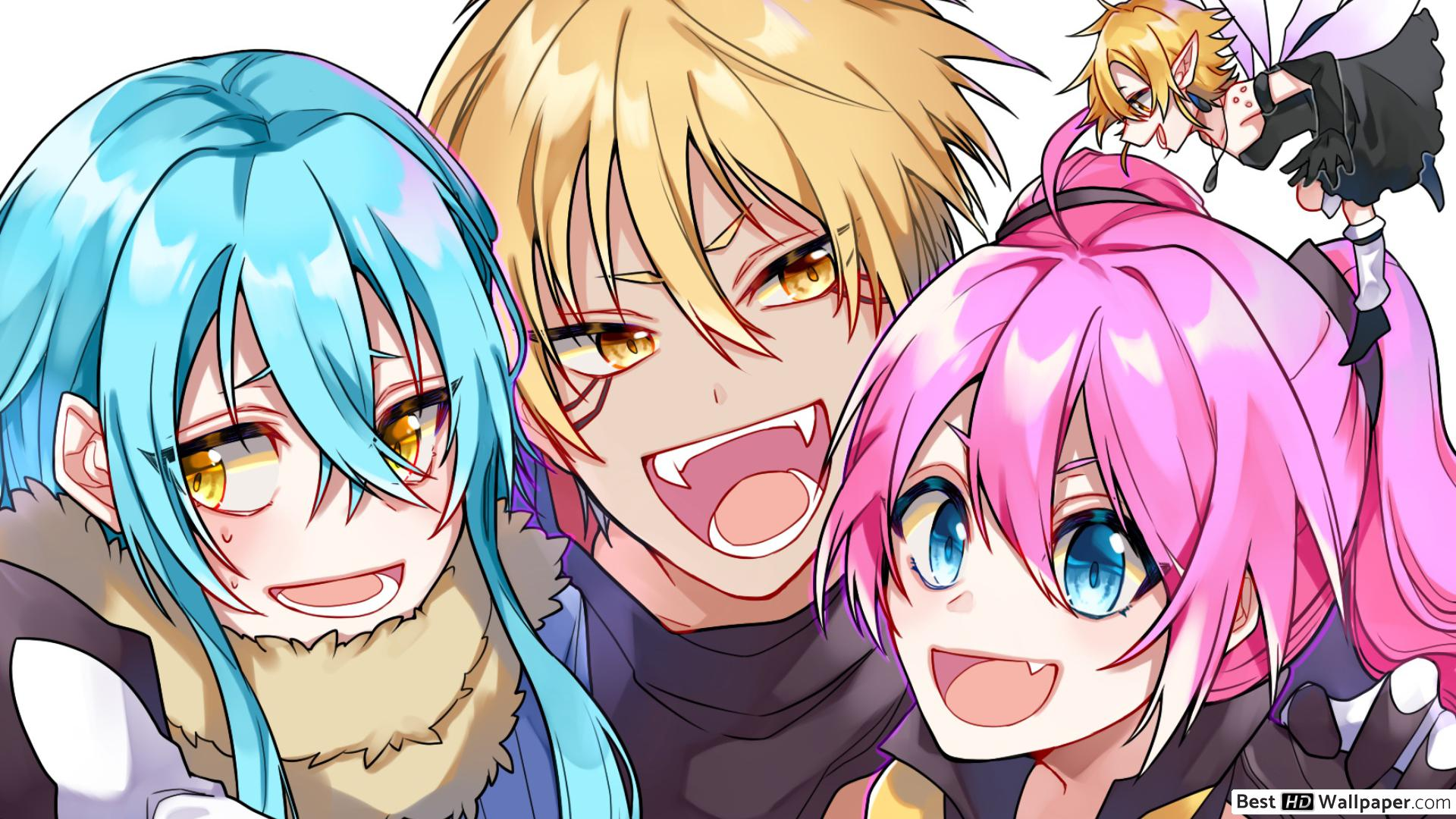 That Time I Got Reincarnated As A Slime Wallpaper Hd Posted By