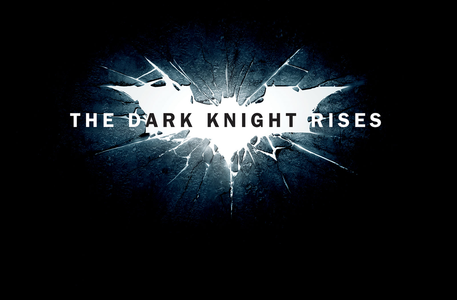 The Dark Knight Rises Ice Logo