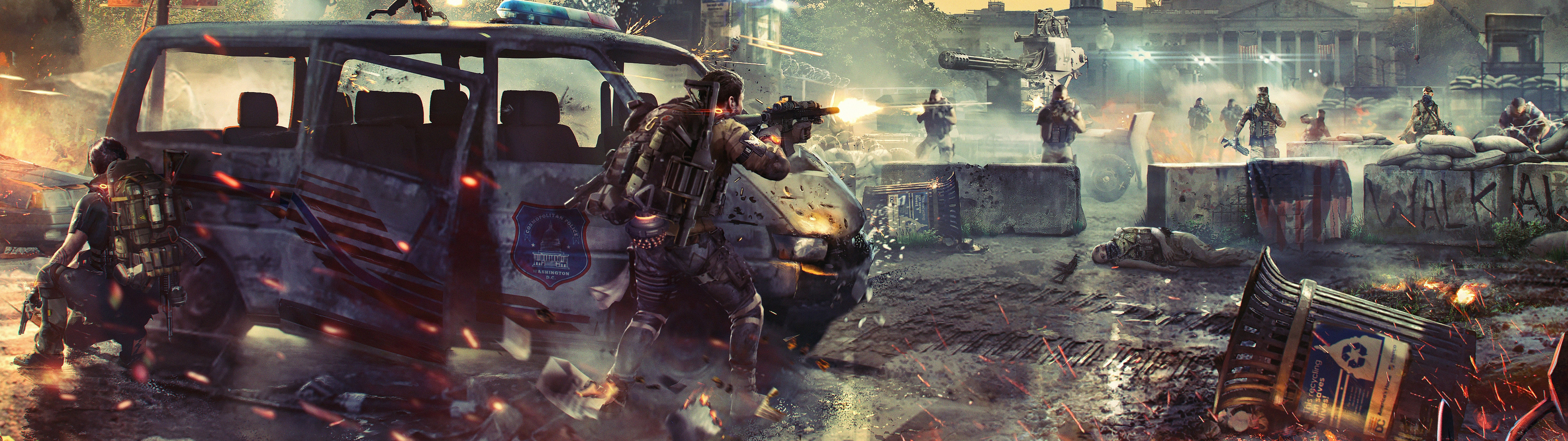 The Division 2 4k Wallpaper Posted By Ethan Tremblay