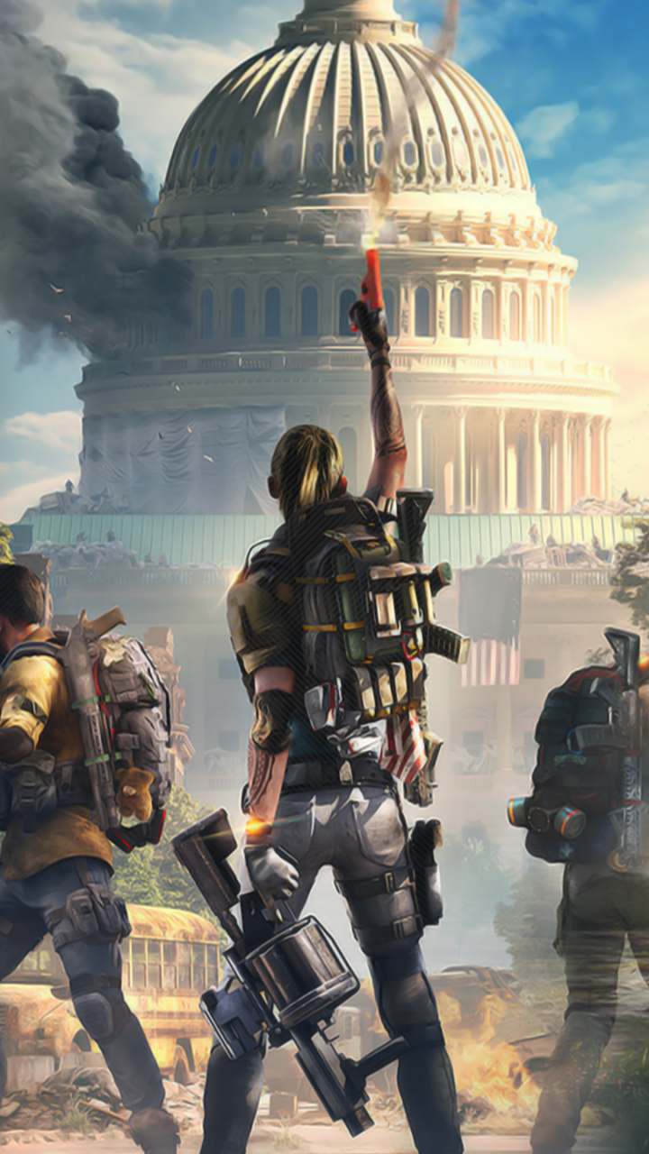 The Division 2 Mobile Wallpaper Posted By Samantha Anderson