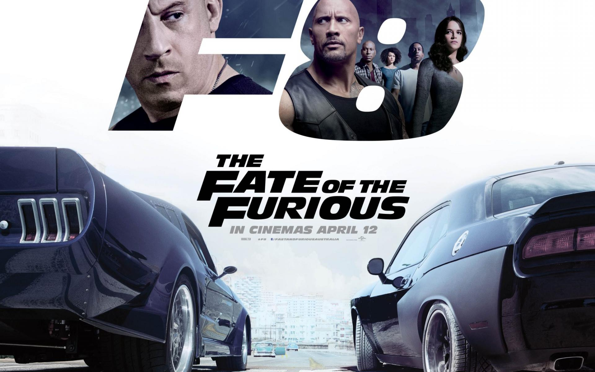 The Fate Of The Furious Wallpaper Posted By Sarah Peltier