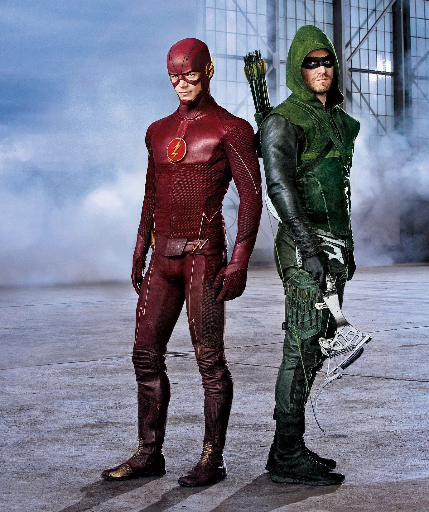 The Flash And Arrow Wallpaper Posted By Samantha Sellers