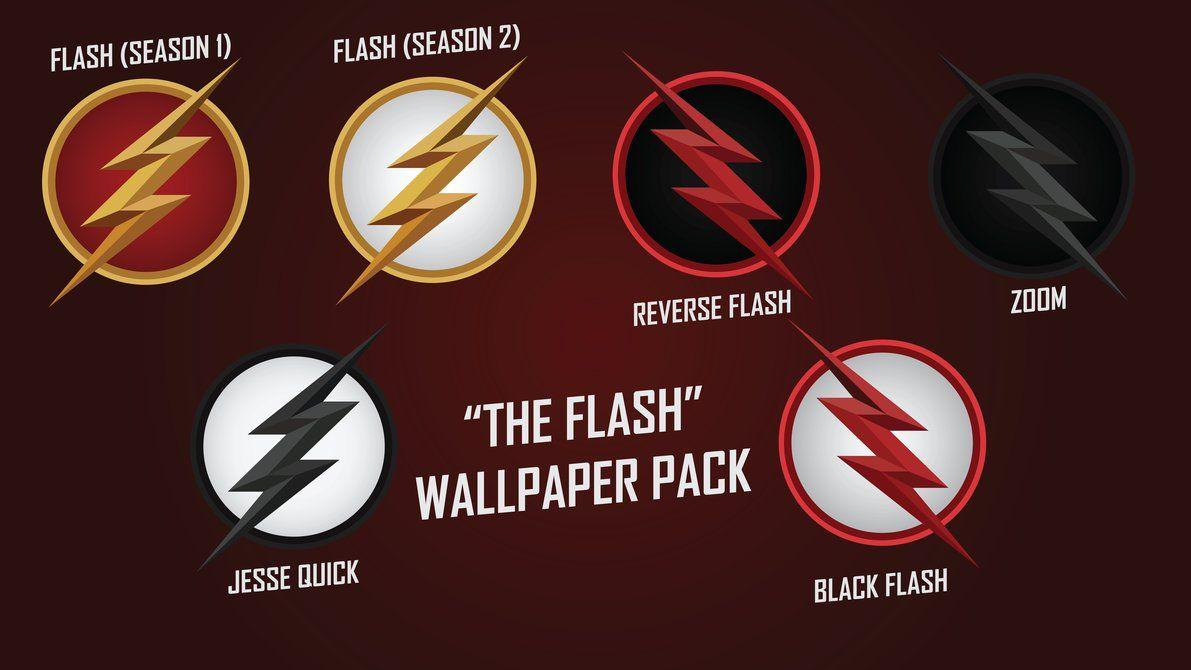 The Flash Logo Iphone Wallpaper Posted By Christopher Johnson