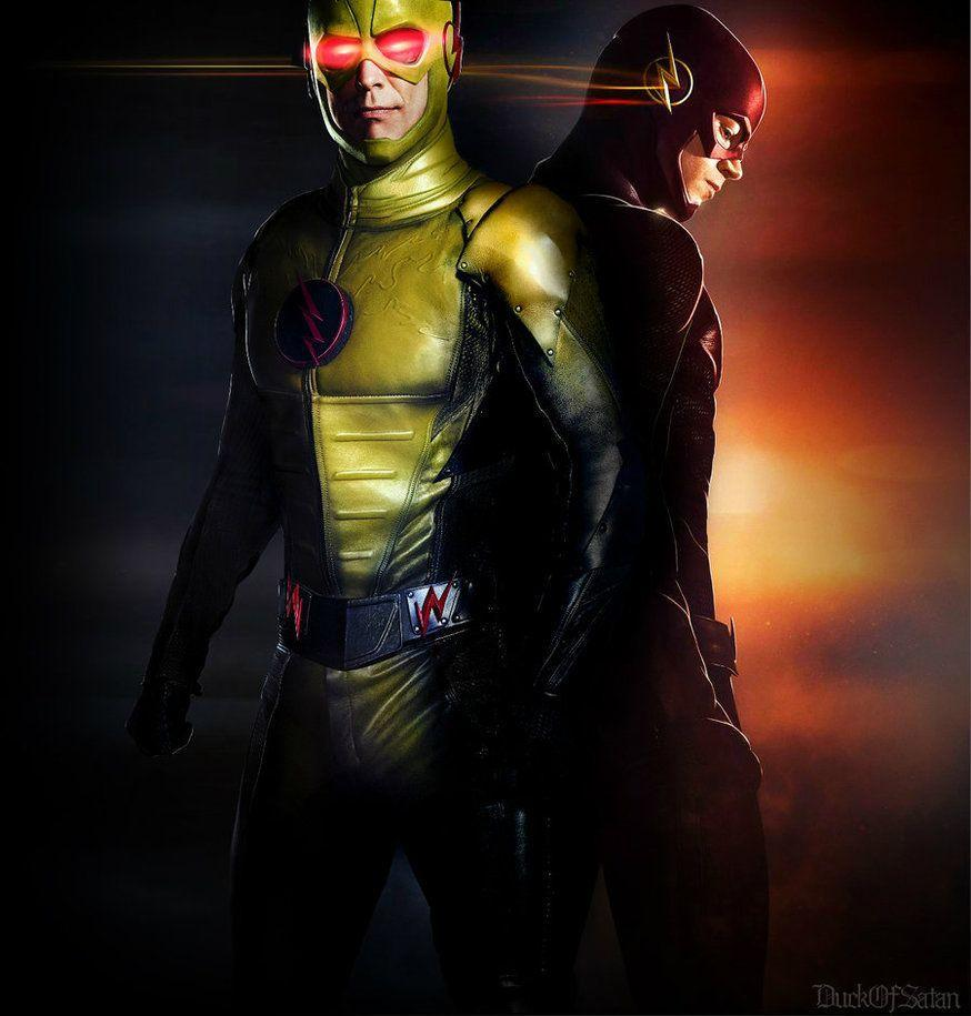 The Flash Vs Savitar Wallpaper