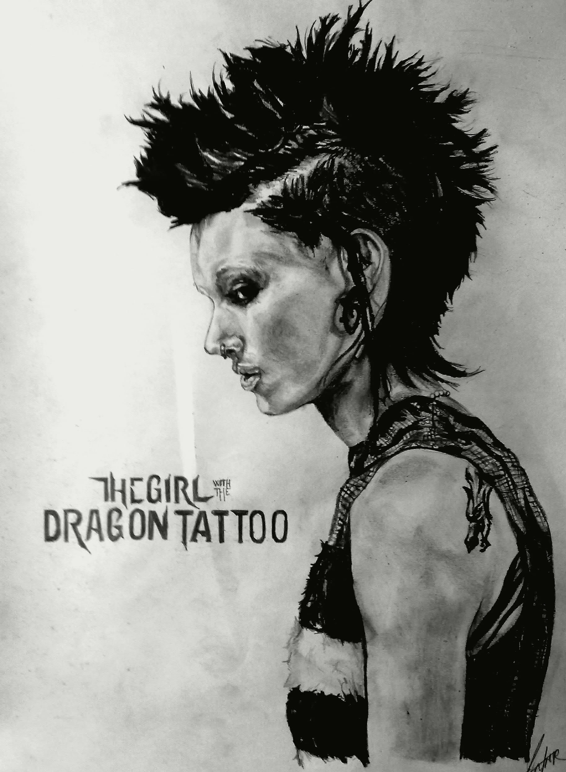 The Girl With The Dragon Tattoo Wallpaper Posted By Samantha Johnson