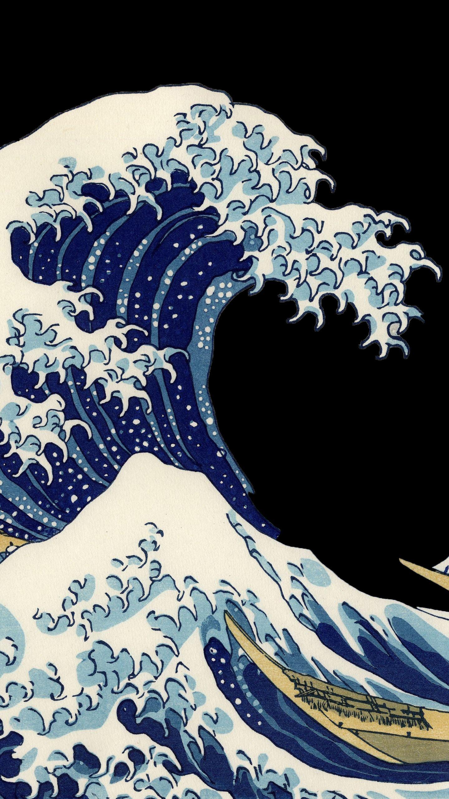 The Great Wave Off Kanagawa Wallpaper Posted By Samantha Thompson
