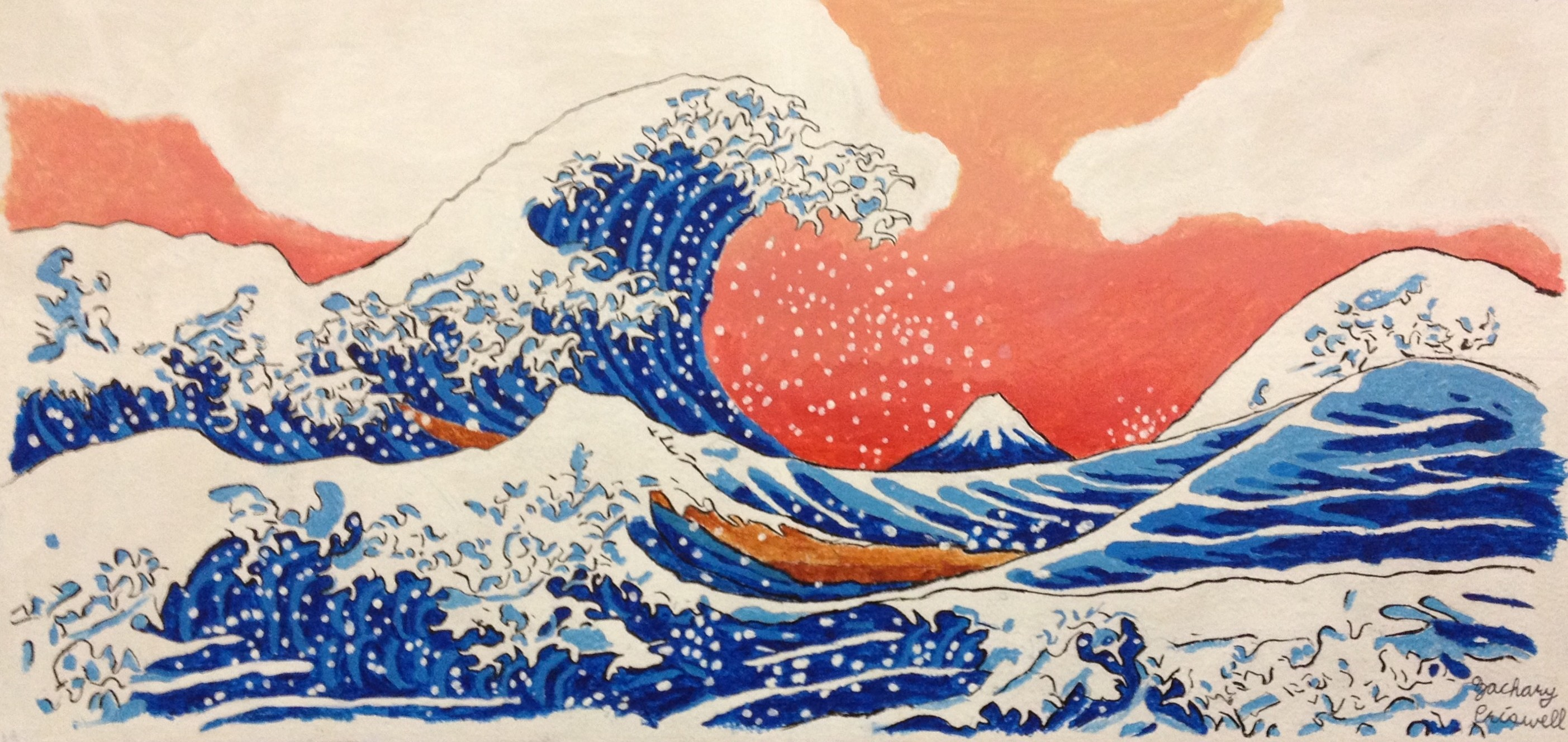 The Great Wave Off Kanagawa Wallpaper Posted By Zoey Mercado