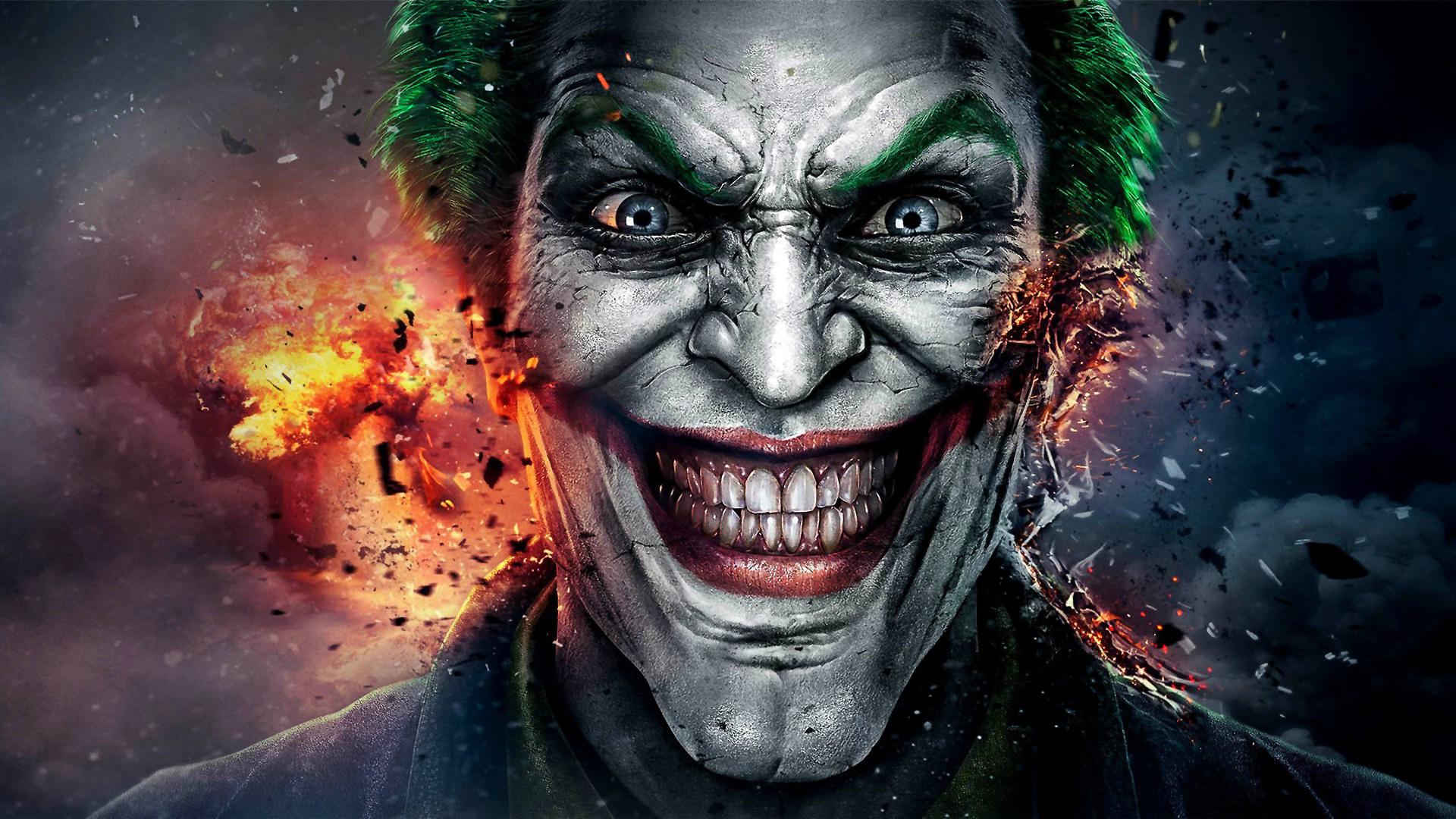 The Joker Desktop Wallpaper Posted By Zoey Johnson