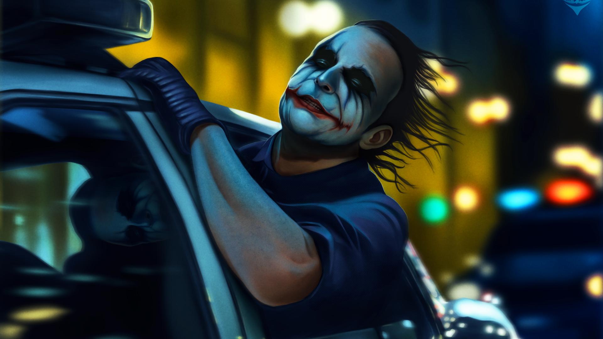 The Joker Hd Wallpaper 1080p Posted By Zoey Peltier