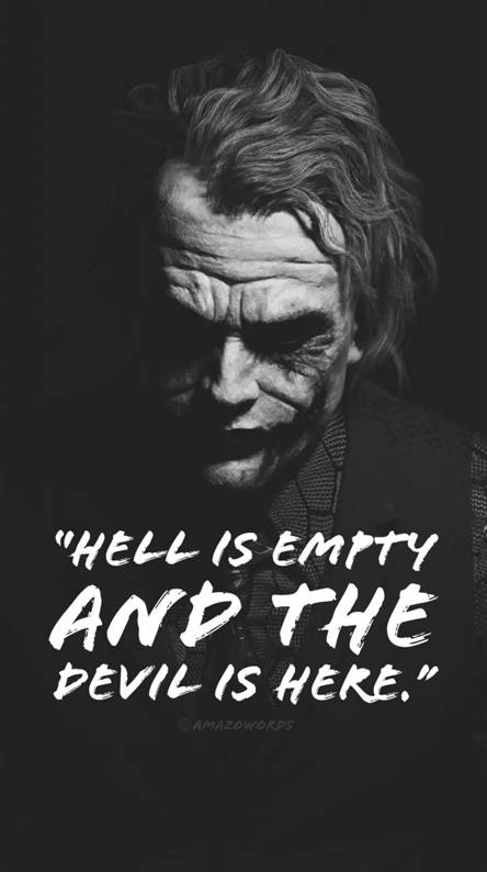 The Joker Quotes Wallpapers Posted By Michelle Mercado
