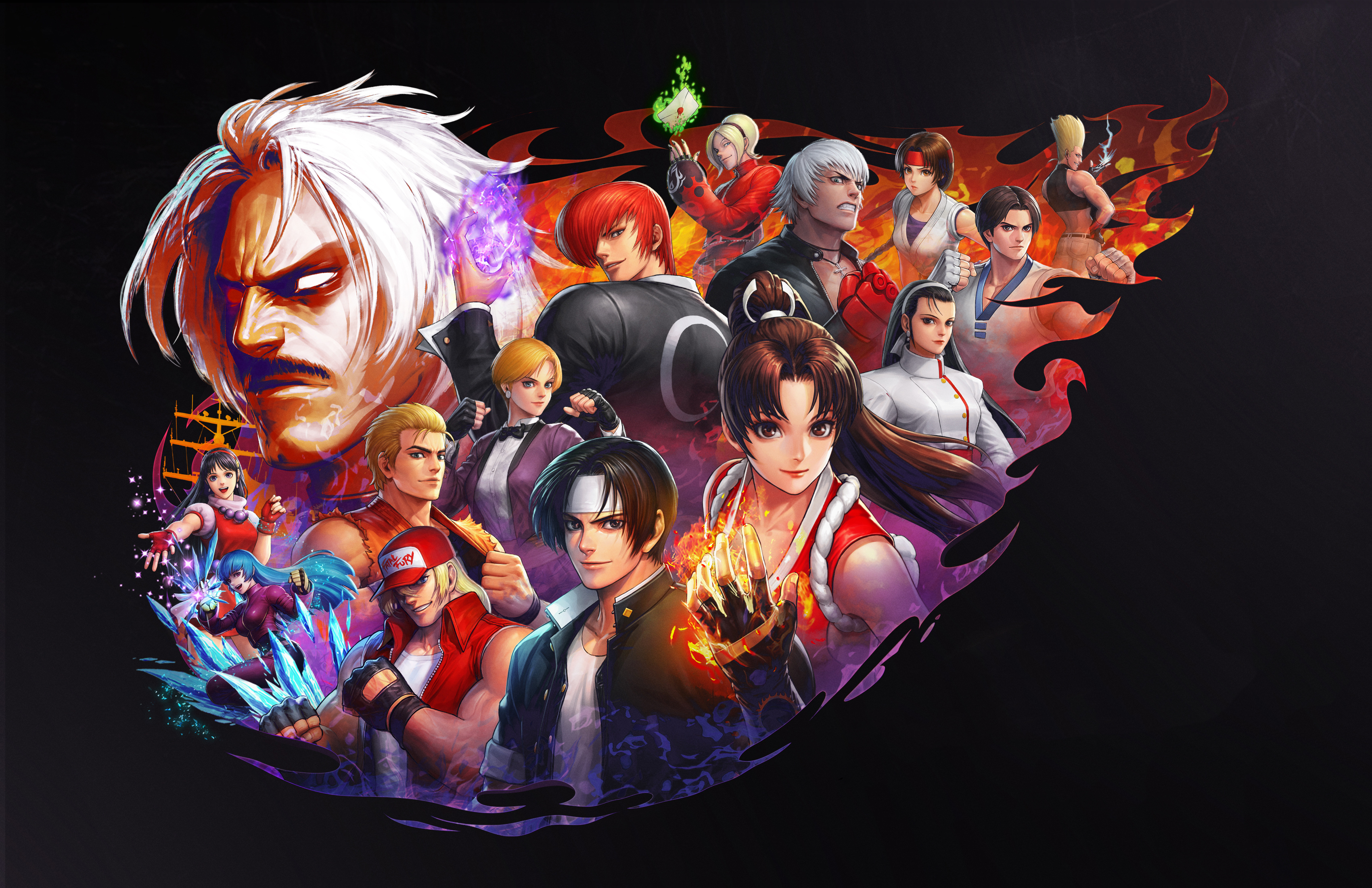 The King Of Fighters Wallpapers Posted By Michelle Sellers