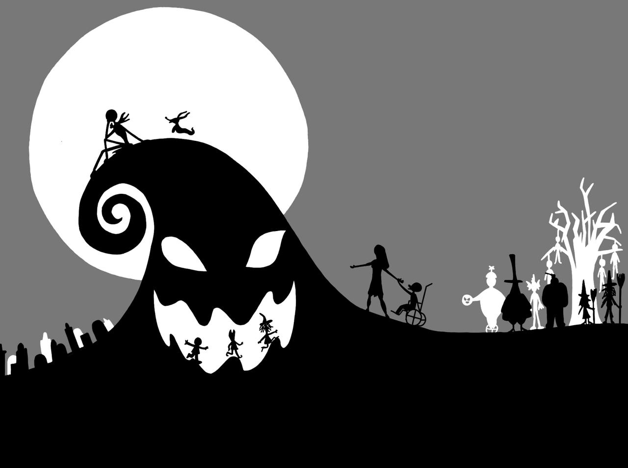 The Nightmare Before Christmas Wallpaper Posted By Zoey Thompson