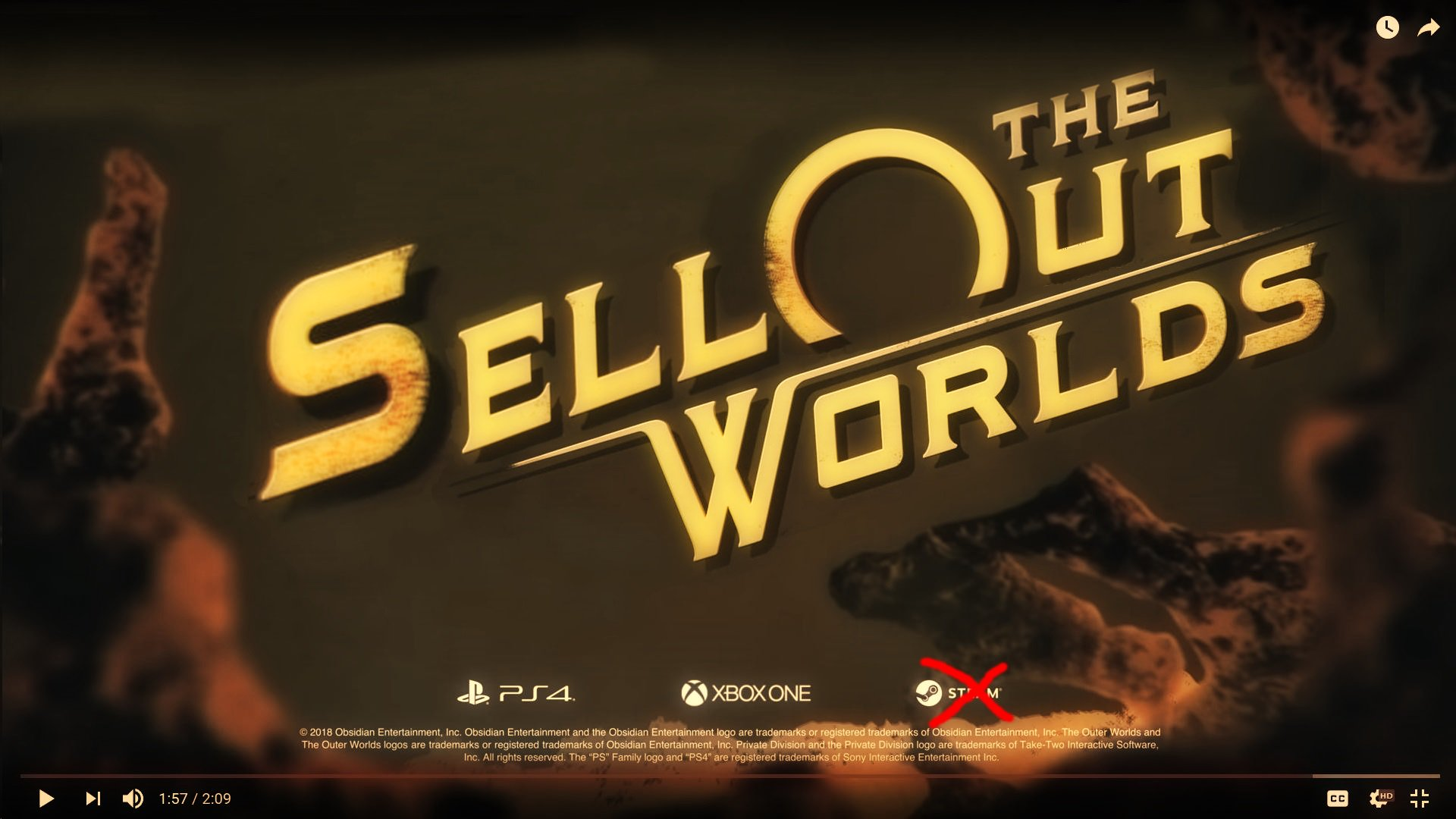 The Outer Worlds Wallpapers