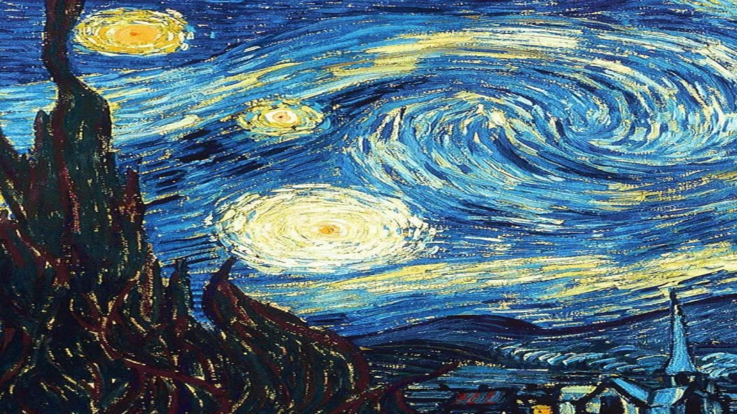The Starry Night Wallpaper Posted By Christopher Thompson