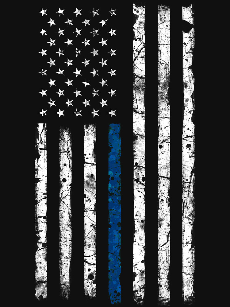 Thin Blue Line Desktop Wallpaper Posted By Samantha Walker