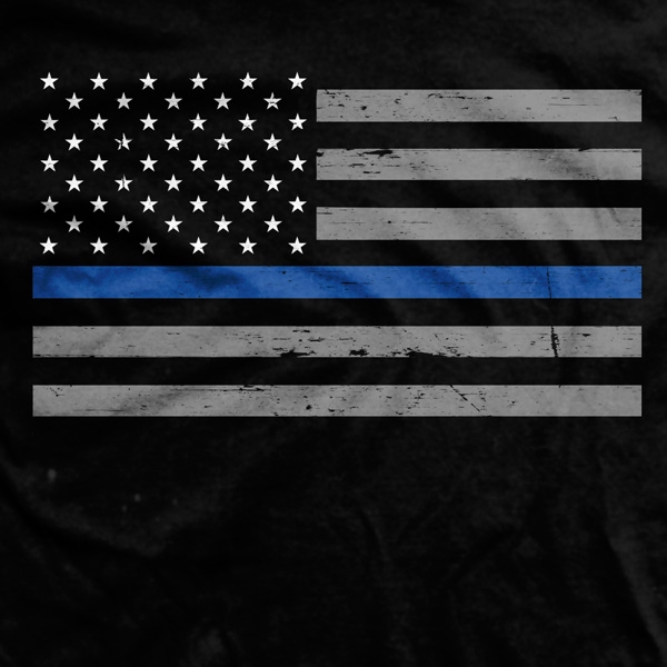 Thin Blue Line Phone Background Posted By Ryan Sellers