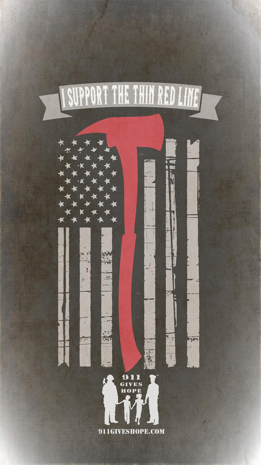 Thin Red Line Flag Wallpaper Posted By Sarah Thompson