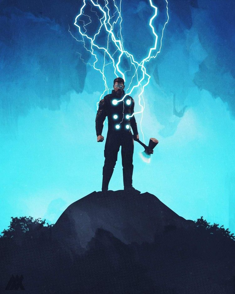 Thor With Stormbreaker Wallpapers Posted By Samantha Thompson