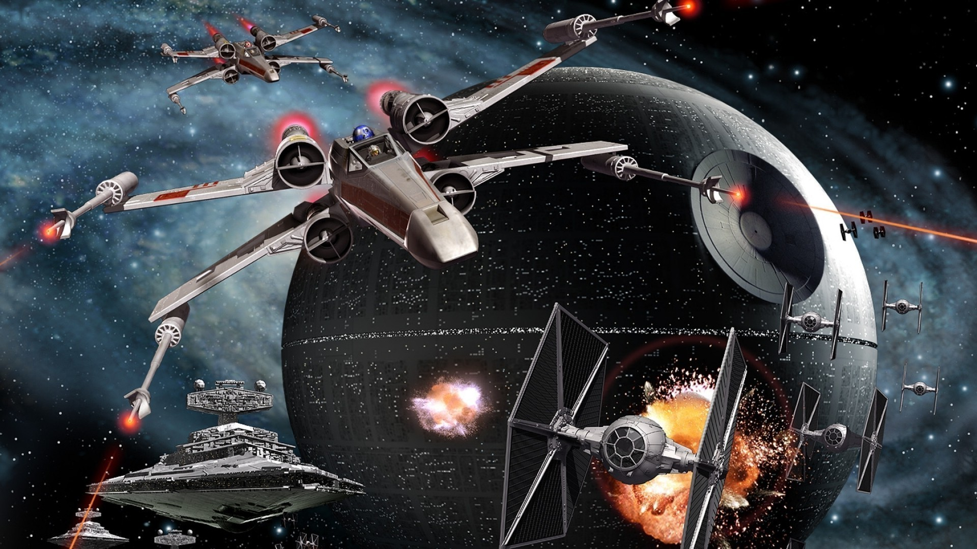 Tie Fighter Background Posted By Michelle Cunningham