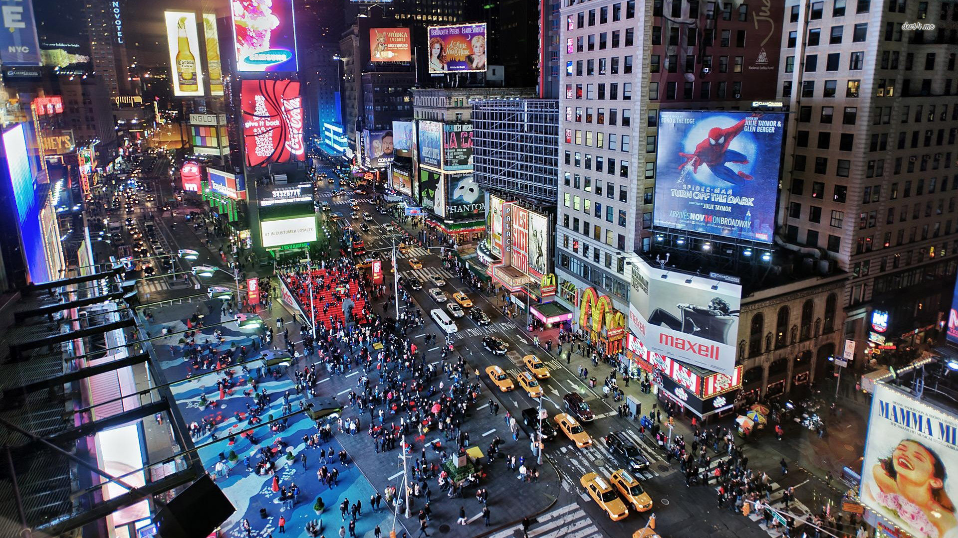 Time Square Backgrounds Posted By Ryan Sellers