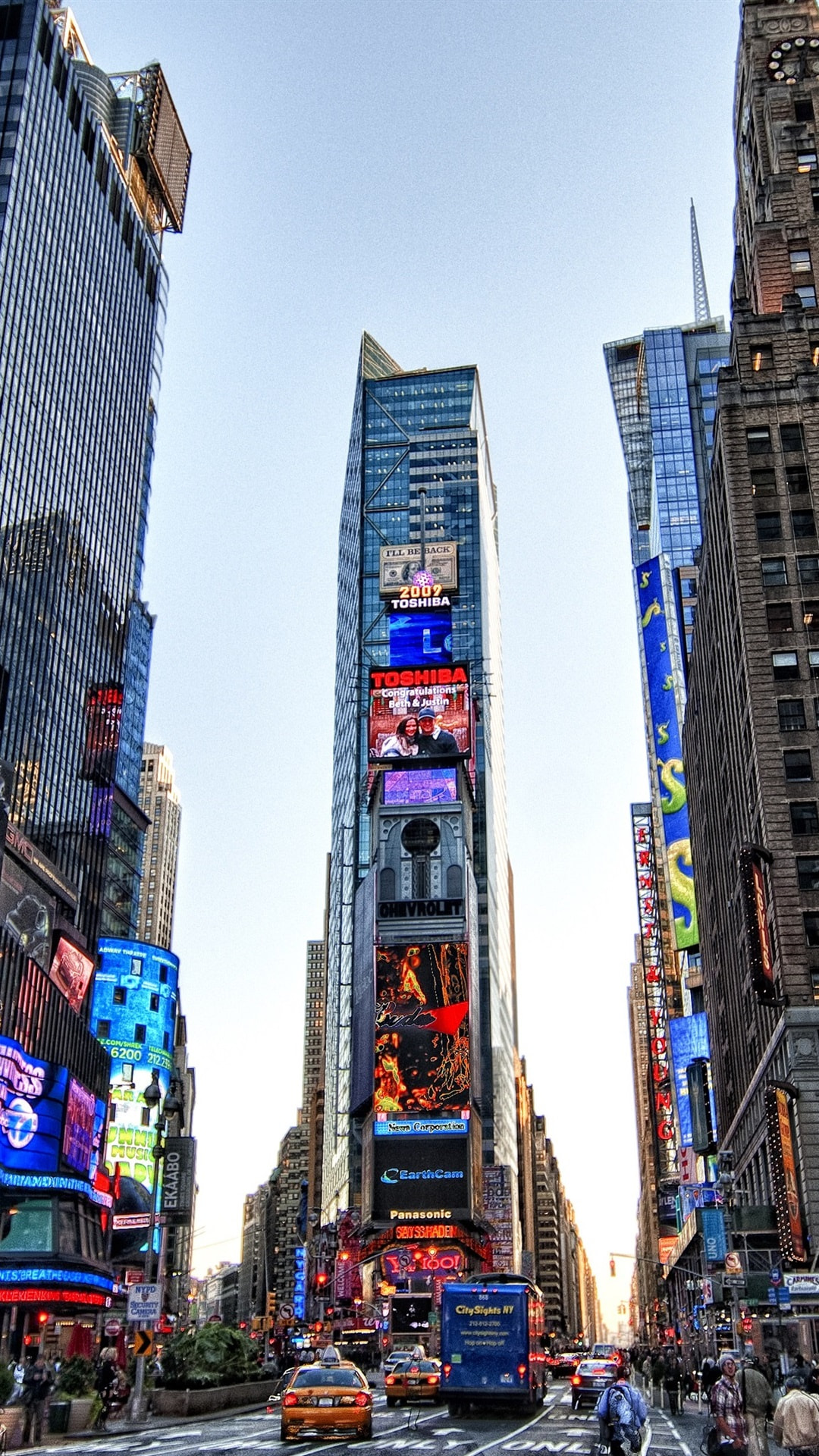 Time Square Wallpaper Posted By Michelle Tremblay