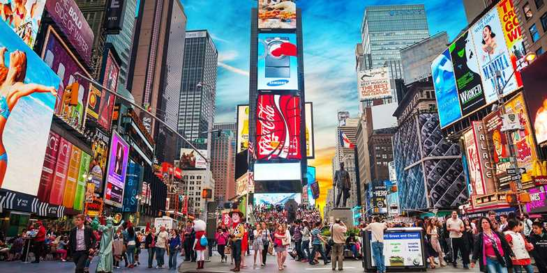 Times Square Hd Posted By Ethan Thompson