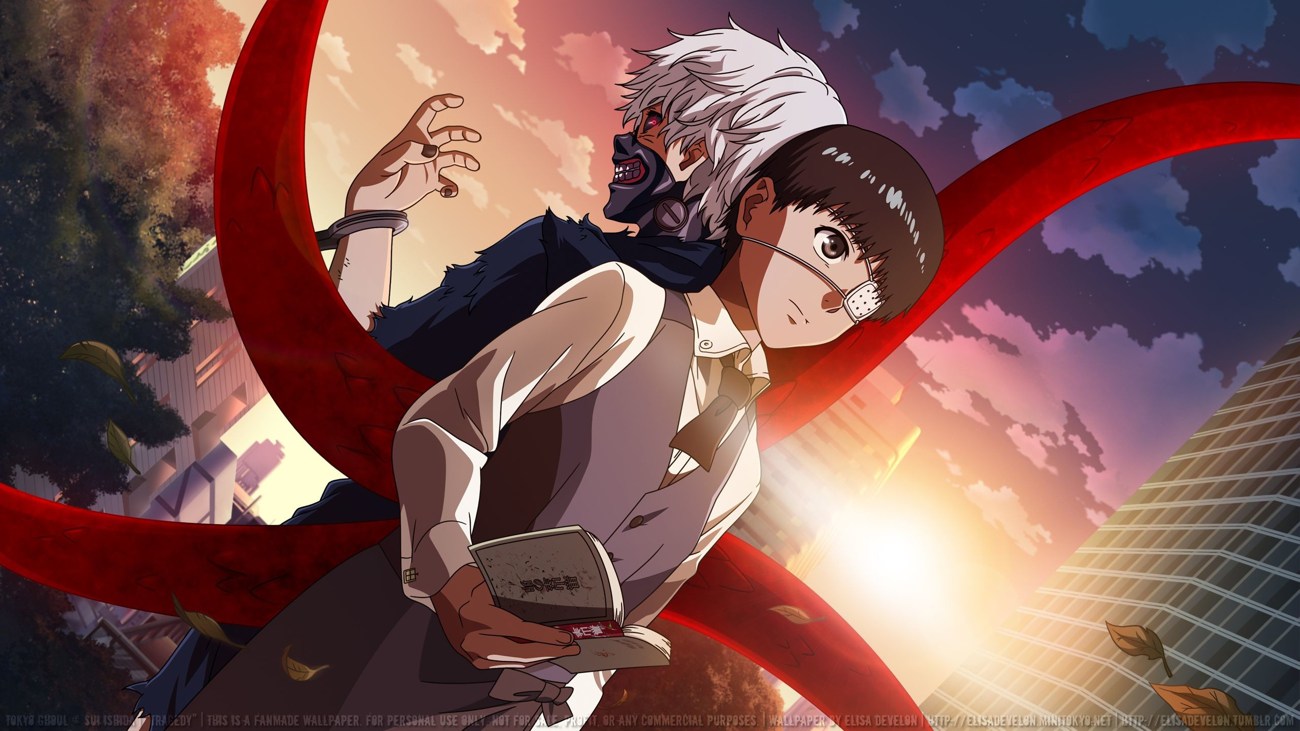 Tokyo Ghoul 1080p Wallpaper Posted By Sarah Sellers