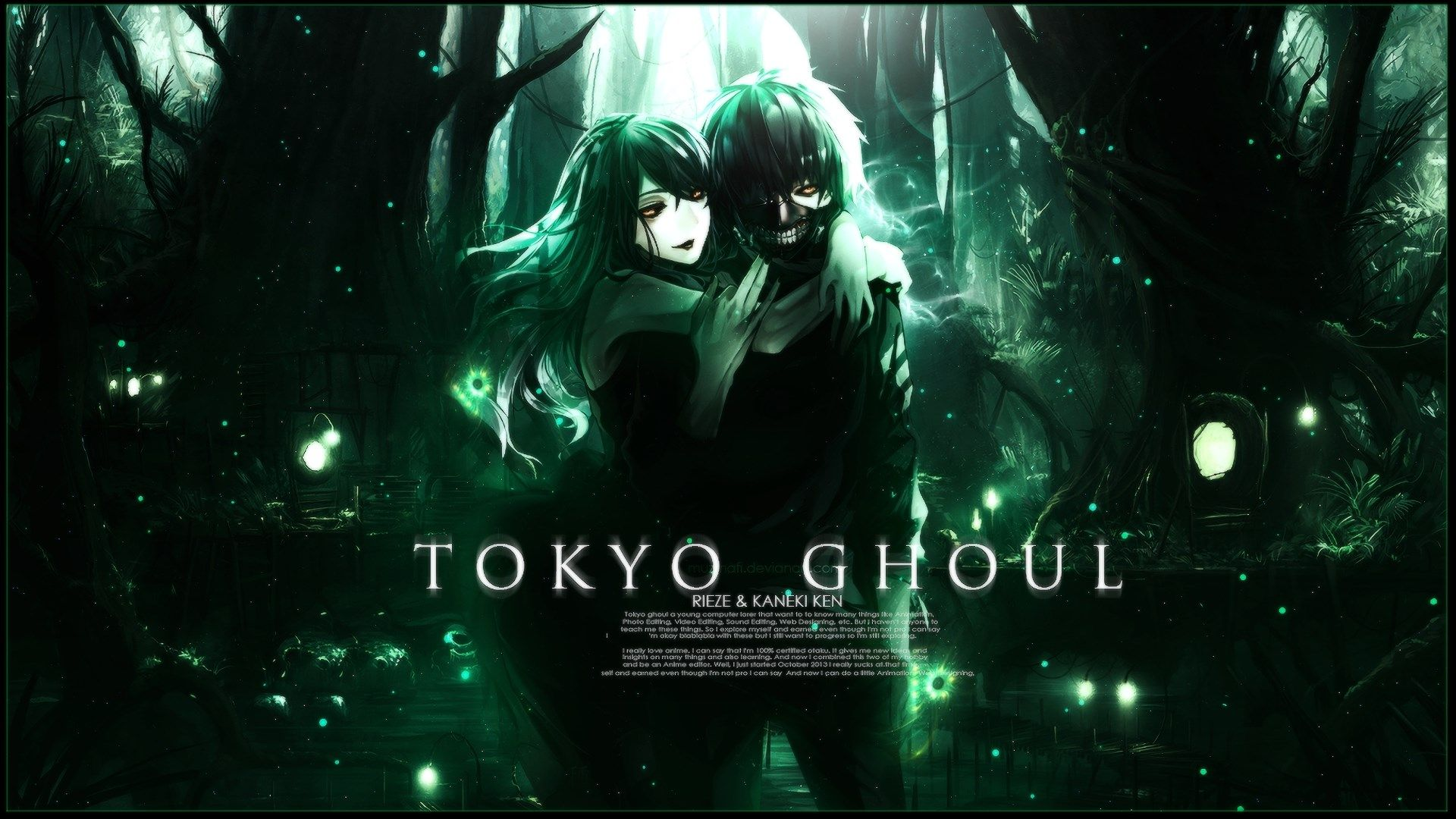 Tokyo Ghoul Computer Background Posted By John Walker