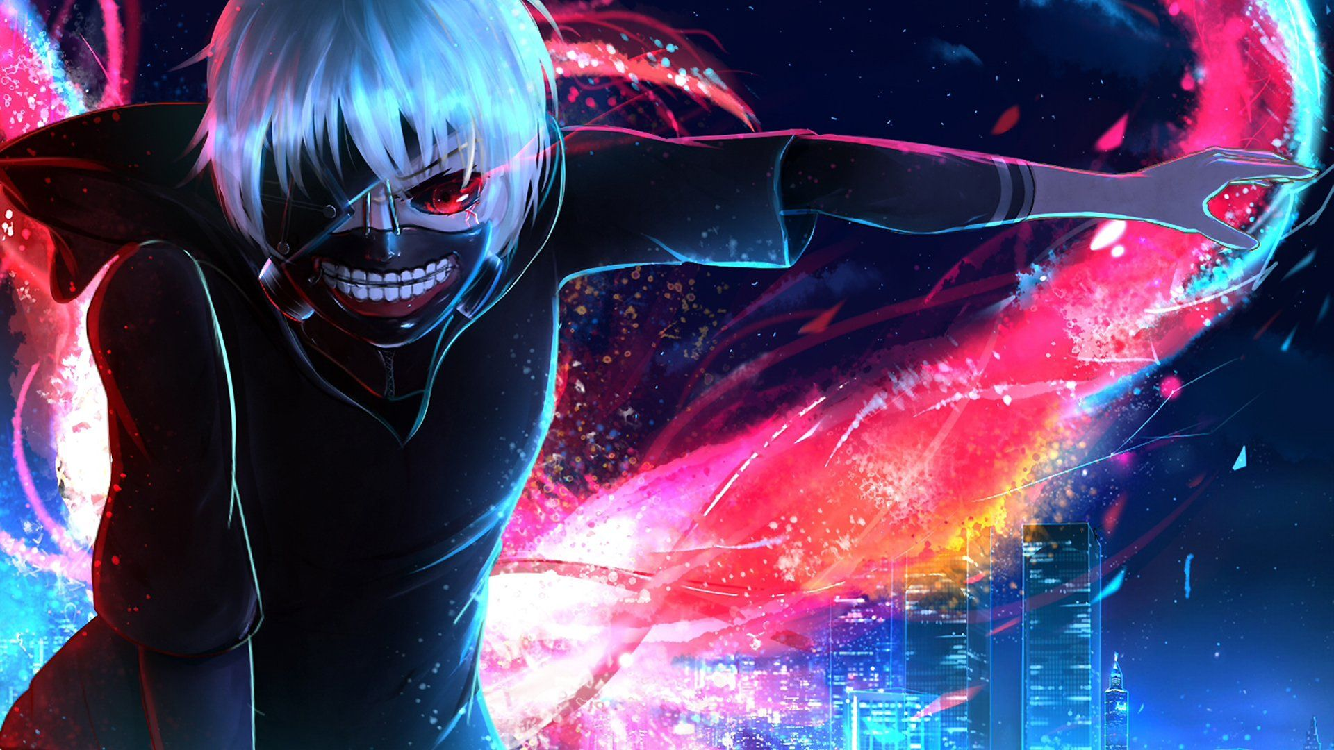 Tokyo Ghoul Hd Wallpaper Posted By Zoey Cunningham