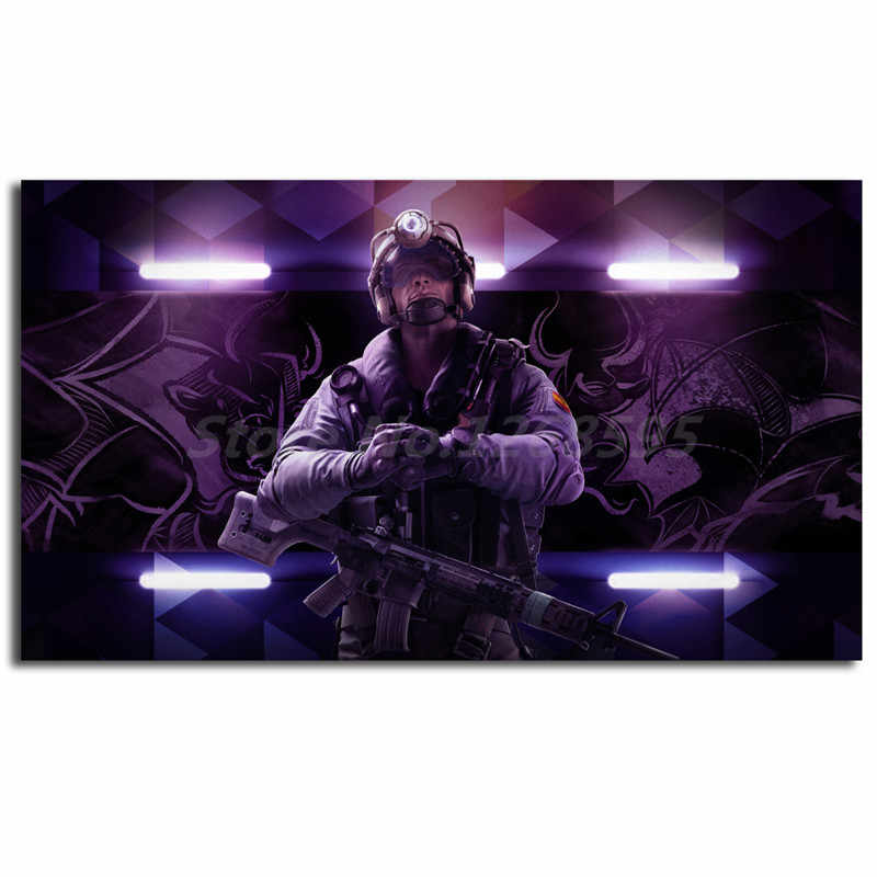 Luxury Trendy Tom Clancys Rainbow Six Siege Smoke Ace Hd Wallpaper Art Canvas Poster Painting Wall Picture Print For Home Bedroom Decoration Trueyogaevergreen Com