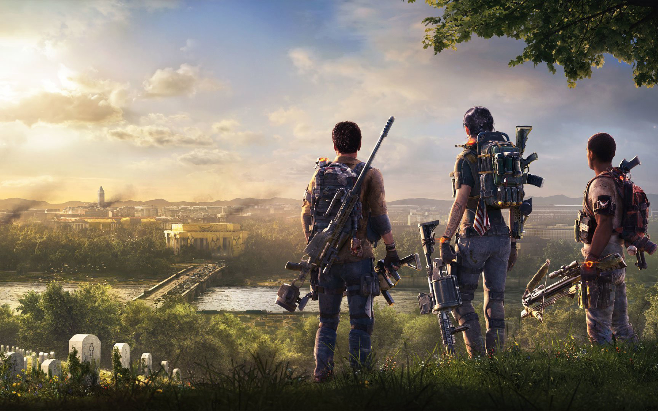 Tom Clancys The Division 2 Wallpapers Posted By Zoey Walker